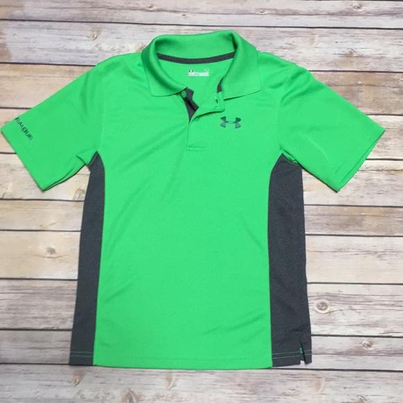 junto a Temporada norte  Under Armour Shirts & Tops | Boys Green Under Armour Polo | Poshmark